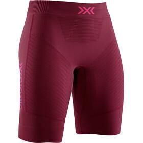 X-Bionic Invent 4.0 Run Speed Shorts Women namib red/neon flamingo